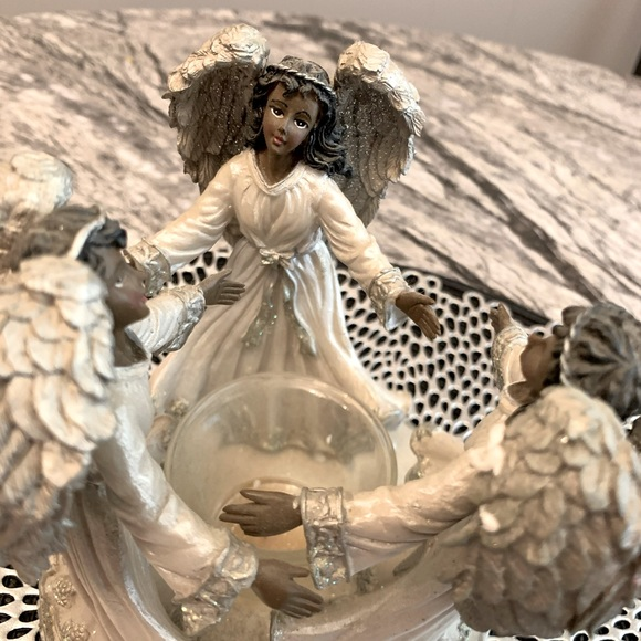 Circle Of angels Candle Holder Decorative TeaLight